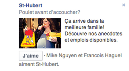 St-Hubert Marketing RH